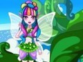 Game Flower Fairy Hairstyles . Play online