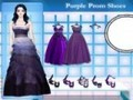 Game Purple Prom Shoes . Play online