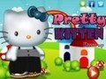 Game Beautiful kitten dressed . Play online
