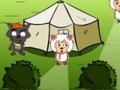 Game Infiltrate the village sheep . Play online