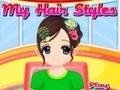 Game My hairstyles . Play online