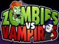 Game Zombies vs. Vampires . Play online
