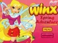 Game Winx Spring Adventure . Play online