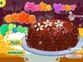 Game Make cake Prom . Play online