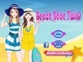 Game Beach Babes Twins . Play online