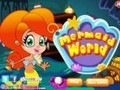 Game World mermaid . Play online