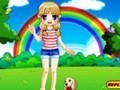Game Rainbow CLOTHES lover . Play online