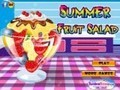 Game Summer fruit salad . Play online