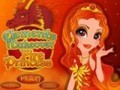 Game A fiery princess makeup items . Play online