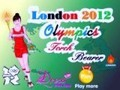 Game London 2012 Olympic torch . Play online
