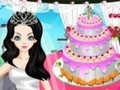Game Wedding Cake Deco . Play online