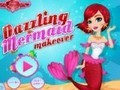 Game Dazzling Mermaid Makeover . Play online