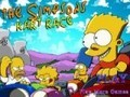 Game Simpsons race card . Play online