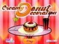 Game Cream Donut Decoration . Play online