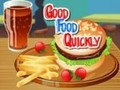 Game Good food fast . Play online
