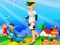Game A boy with a puppy . Play online