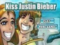 Game Kiss Justin Bieber . Play online