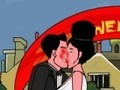 Game Kiss for bride . Play online