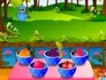 Game Forest birds feeding . Play online