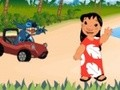 Game Lilo and Stitch Car Race . Play online