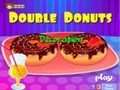 Game Double donuts decorations . Play online