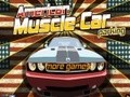 Game American Muscle Car Parking . Play online