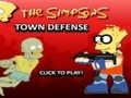 Game The Simpsons defense of the city . Play online