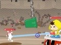 Game Lucky and Amy microbes Busters . Play online