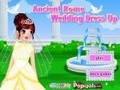 Game Ancient Rome Wedding Dress . Play online
