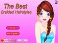Game Best braided hairstyles . Play online