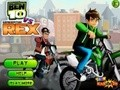 Game Ben 10 vs Generator Rex . Play online