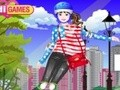 Game Stylish girl Patin . Play online
