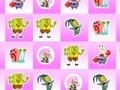 Game SpongeBob - three in a row . Play online