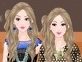 Game High fashion twins . Play online