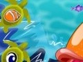 Game Dress the little fish . Play online