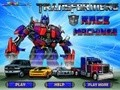 Game Transformers racing cars . Play online