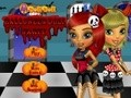 Game Shares Halloween party . Play online