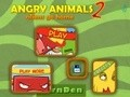 Game Angry Animals Aliens 2 home . Play online