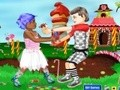 Game Kids and Candy . Play online