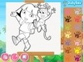 Game Dora Coloring game ranger . Play online