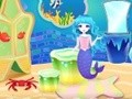 Game Cute home in the kingdom of mermaids . Play online