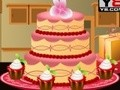 Game Decorating the wedding cake . Play online