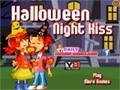 Game Halloween Night Kiss . Play online