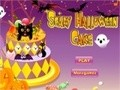 Game Scary Halloween Cake . Play online
