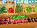 Game Vegetable shop . Play online