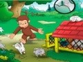 Game Curious George and the hidden stars . Play online