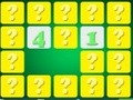 Game Find a pair of numbers . Play online