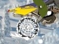 Game Ben 10 - Snow Racer . Play online