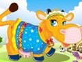 Game Cow dressed . Play online