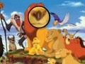 Game Lion King Hidden Letters . Play online